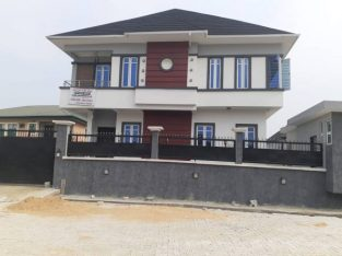 New 5 bedroom duplex with exquisite finishing @ Divine Homes Estate, Thomas Estate, Lekki