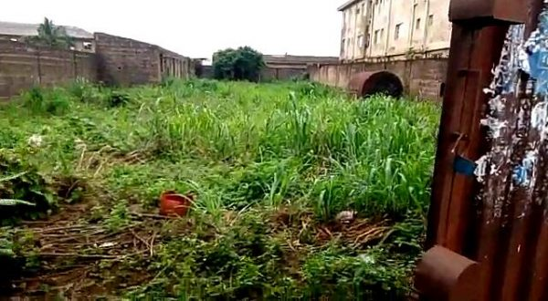SELLING NOW: Land with Fence, Gate and Security House Located at Odogunyan, After Army Barrack