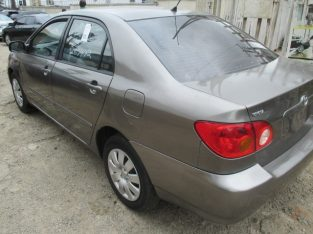 Toyota corolla call for details