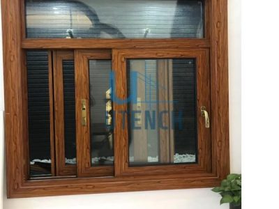 Powder coating alumininum sliding window with toughed glass
