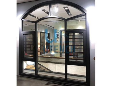 Utench burglar proof casement window