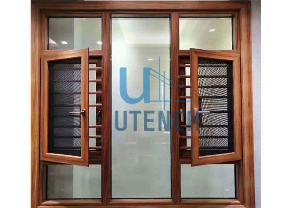 Utench burglar proof casement window