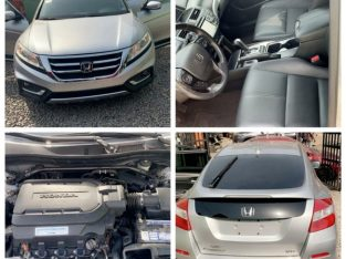 Super Clean Tokunbo Full Option Honda Crosstour 2013 Model For Sale