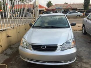 tokunbo Toyota corolla 2006 for sale