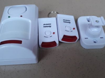 Motion Detector Alarm PIR Infrared Sensor Anti-Theft