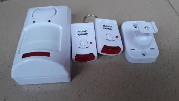Motion Detector Alarm PIR Infrared Sensor Anti-Theft