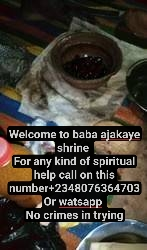 The most powerful spritual native doctor in africa+2348076364703