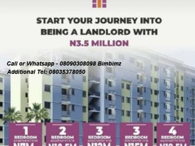 We are Selling Apartments at Fairfield, Abijo, Lekki