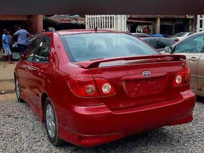 2006 Tokunbo Toyota Corolla Sport For Sale (Call or Whatsapp – 08084320304)