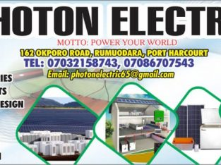 We Deal With Quality Inverters, Solar Panels, Batteries and Other Solar Accessories