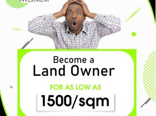 AMAZING OFFER: Own a Plot of Land in any of Our Estates in Lagos with as low N1500 per SQM