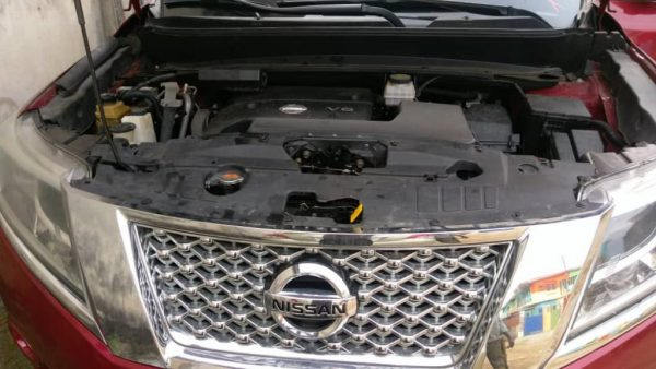 YOUR PERFECT RIDE – Red Foreign Used Nissan Pathfinder 2013 Model For Sale
