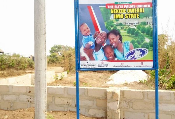NOW SELLING: Plots of Land at Palms Garden, Owerri, Imo State