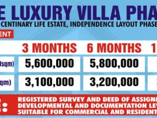 Buy Your Plot of Land at Elite Luxury Villa Phase 2, Enugu (Call or Whatsapp – 09067566475)