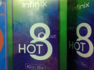 Infinix hot8 call for details