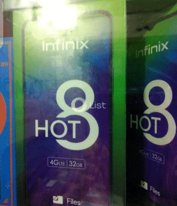 Infinix hot8 call for details