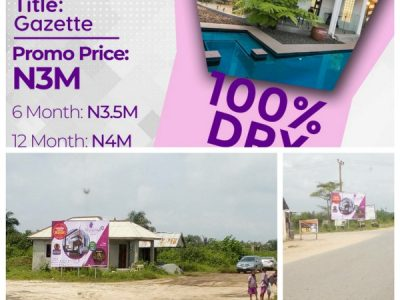 ONGOING PROMO – Plots of Land For Sale at Maplewoods 2, Ibeju Lekki (Call OR Whatsapp)