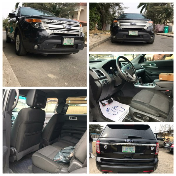 2014 XLT FORD EXPLORER FOR SALE (Call or Whatsapp – 08022955720)