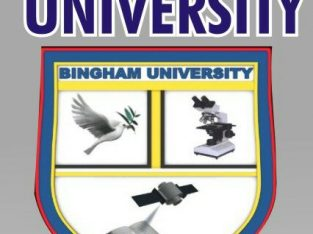 Bingham University Admission Form,Direct Entry Form 2020/2021 Post Utme Form is out