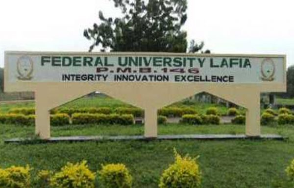 federal  university lafia nasarawa state pre degree remedial admission form for 2020  2021 ac