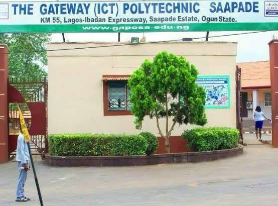 gateway  polytechnic saapade hnd nd part time admission form for 2019 2020 academic  session an