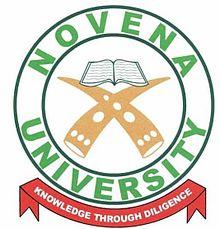 Novena University, Ogume Admission Form,Direct Entry Form 2020/2021 Post Utme Form is out Click here