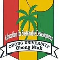 Obong University, Obong Ntak Direct Entry Form 2020/2021 Post Utme Admission Form is out