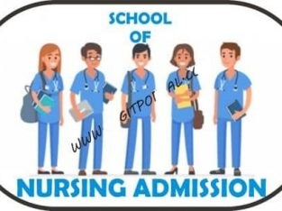 School of Nursing, Ogoja 2020/2021 Nursing Form and Midwifery Form is still out on sale call the adm