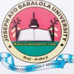 Joseph Ayo Babalola University, Ikeji-Arakeji (JABU) 2020/2021 Post UTME Admission form, Direct Entr