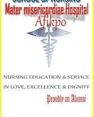 Mater School of Nursing and Midwifery, Afikpo 2020/2021 Session