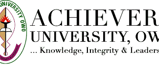 Achievers University, Owo 2O2O/2O21 Session Admission Forms are on sales