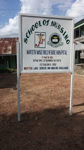 Mater Misericordiae Hospital, School of Nursing Afikpo 2020/2021 Session ADMISSION FORMS ARE ON SALE