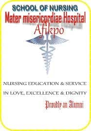 Mater School of Nursing Afikpo 2020/2021 ADMISSION FORMS ARE ON SALES .