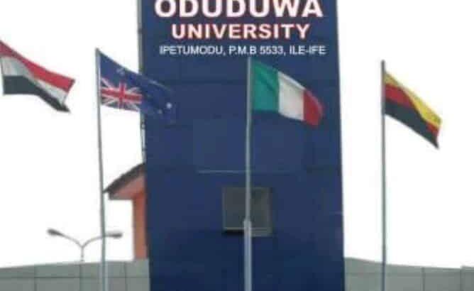 Oduduwa University, Ipetumodu – Osun State 2O2O/2O21 Session Admission Forms are on sales.