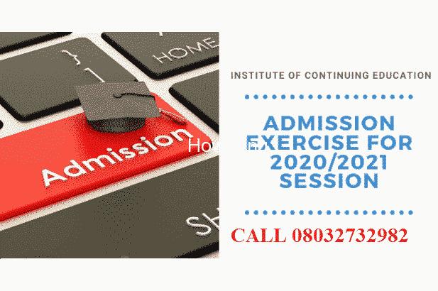 Adeleke University, Ede (AUE) 2020/2021 change of institution Admission form, Direct Entry form is o