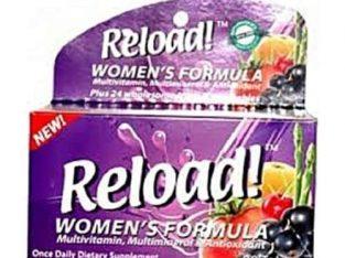 Reload Multivitamin – Reload for Women – 90 Tablets