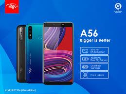 Itel A56 Price In Nigeria – Itel A56 Smartphone
