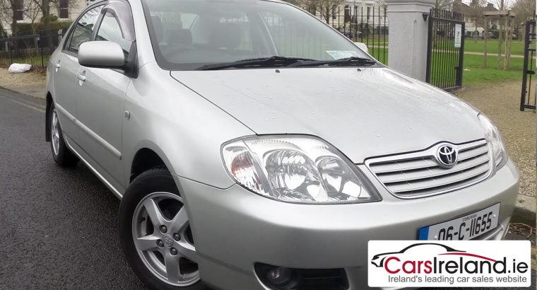 Toyota Corolla 2005 – Very Neat – Buy and Drive