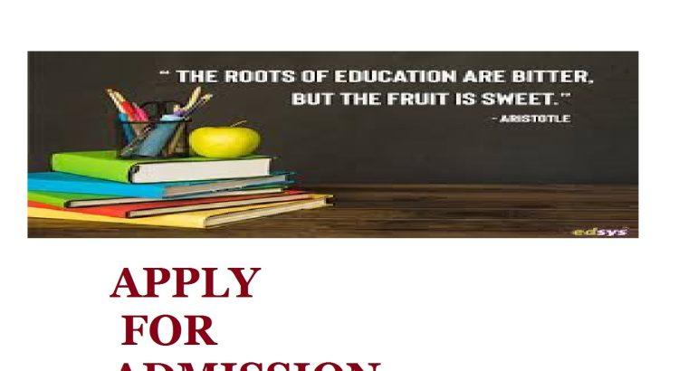 Mater School Of Nursing (S.O.N.) Afikpo,2021/2022 NURSING Admission form 0806591