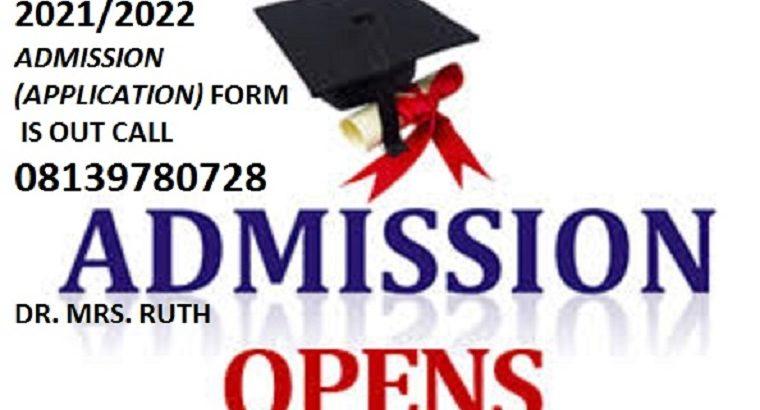 School of Nursing (SON), Amachara 2021/2022 Nursing form is out call 08139780728