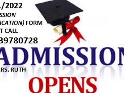 School of Nursing (SON), Ogoja 2021/2022 Nursing form is out call 08139780728.