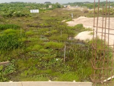 Gazetted land in Eluju by eleko junction.Amen estate neighborhood