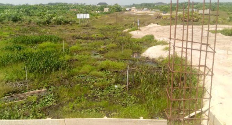 Gazetted land in Eluju by eleko junction.Amen estate neighborhood