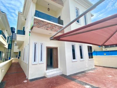 5 bedroom duplex with Governor's consent in ikota in Chevron neighborhood