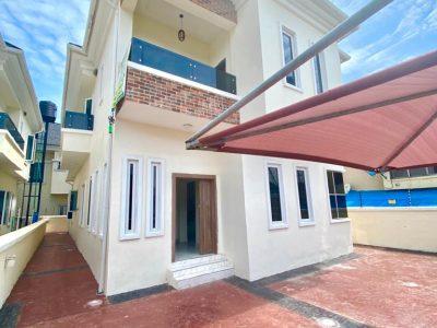 5 bedroom duplex with Governor's consent in ikota in Chevron neighborhood