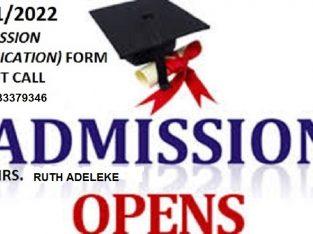 School of Nursing, Baptist Medical Centre, Saki 2021/2022 Session Admission