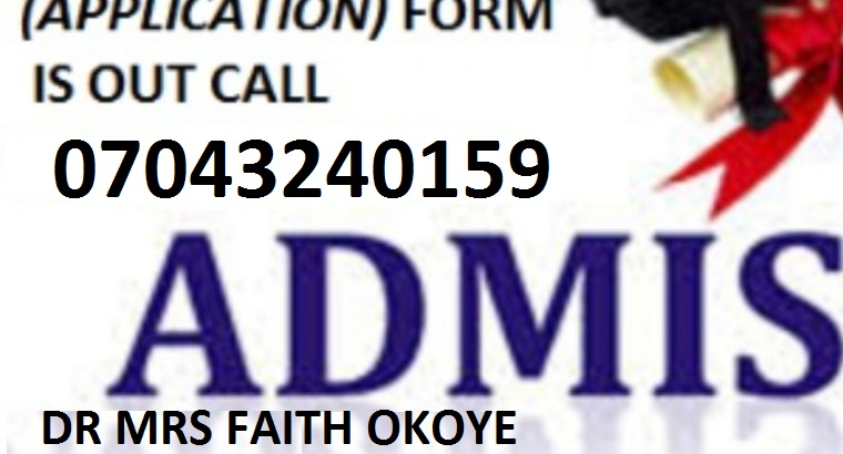 School of Health Technology, Kano, Kano State 2021/2022 Admission Form IS OUT Ca