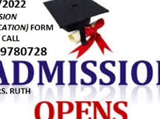 School of Nursing (SON) Vom Jos 2021/2022 Admission form is out call 08139780728