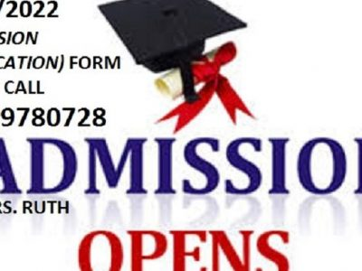 PAMO University of Medical Sciences, Portharcourt 2021/2022 Admission form