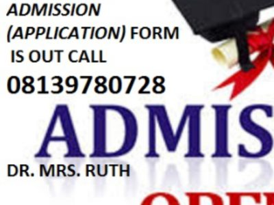 School of Nursing, (SON) Gwagwalada Admission Form is out call 08139780728
